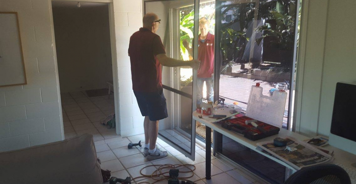 crimsafe doors installation