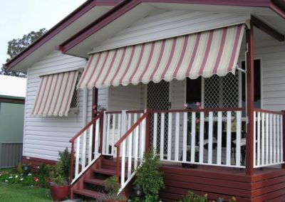 Traditional Roll-up Awnings