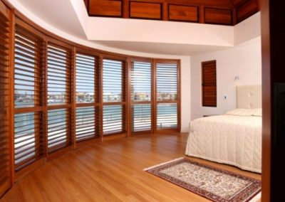 Timber and PVC Shutters