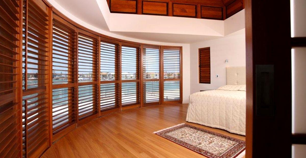 Timber & PVC Shutter