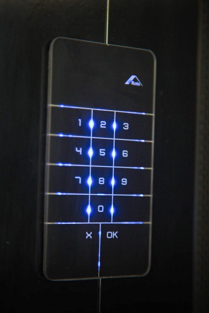 crimsafe iq number pad